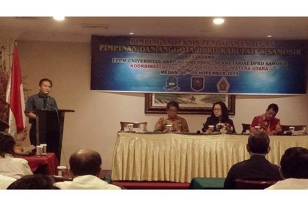 UHN Medan Selenggarakan Bimtek untuk DPRD Samosir